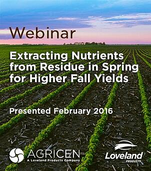 Webinar: Extracting Nutrients from Residue in Spring for Higher Fall Yields