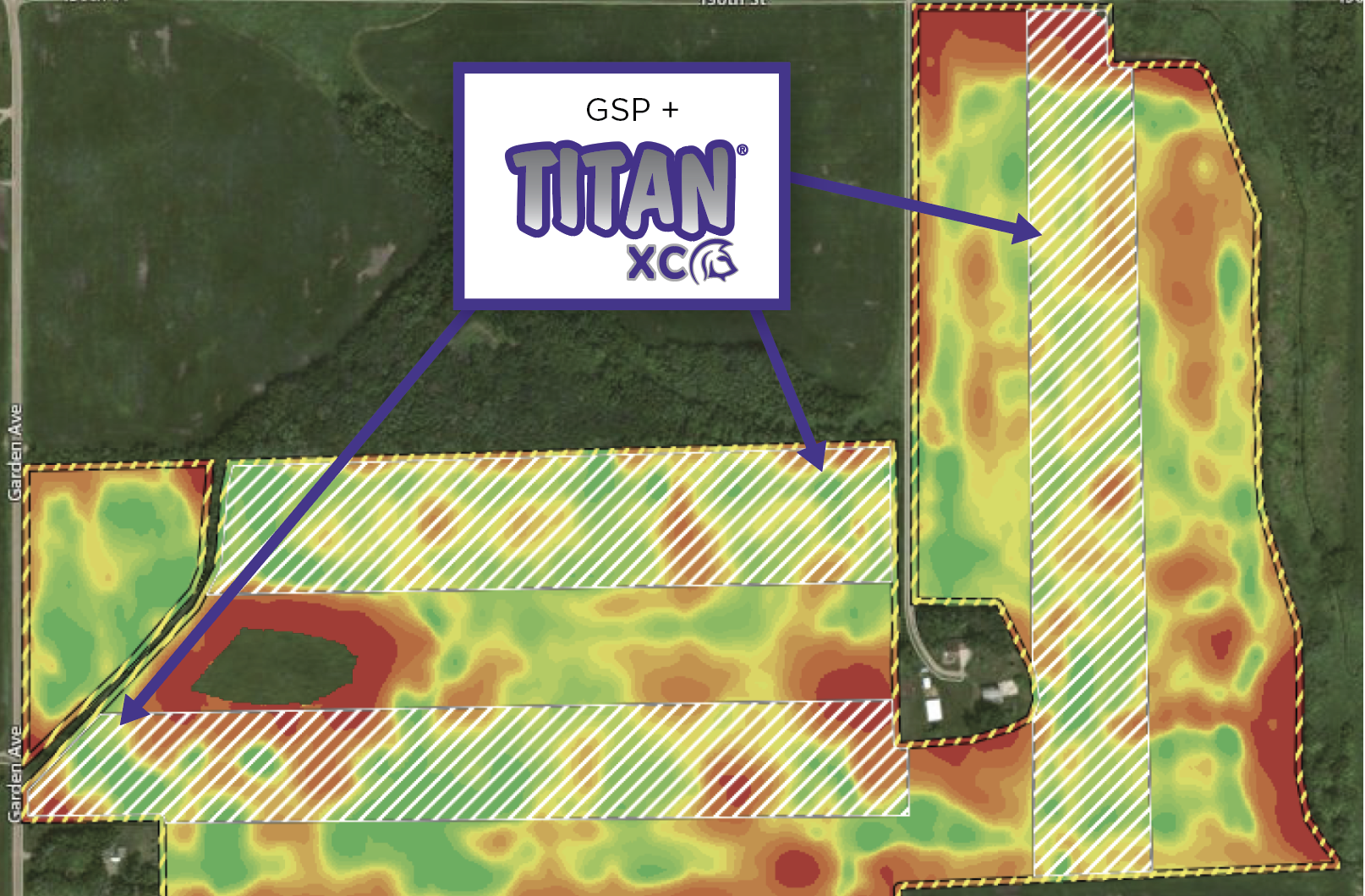 Ttan yield map MN